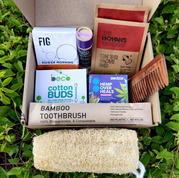 Zerowaste Bathroom Essentials Box - Anya Gupta X  Verth
