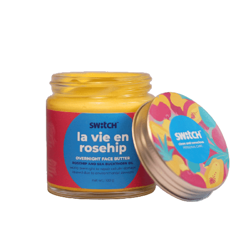 Restorative La Vie En Rosehip Overnight Face Butter for Dull Skin - 100g