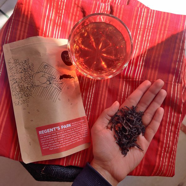 Black Rose Organic Green Tea by Tea Lab